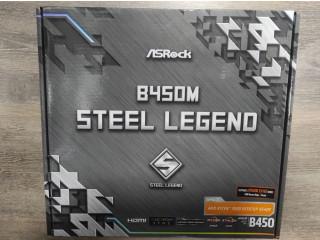 Placa de baza ASRock B450M Steel Legend - NOU - SIGILAT