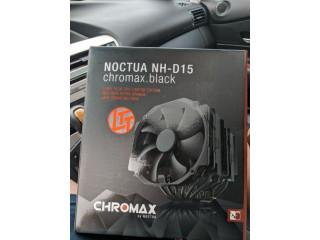 Noctua black D15 D-15 cooler CPU nou sigilat LinusTechTips LTT edition