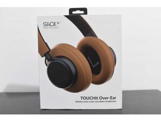 Vand Casti Audio Over Ear, SACKit TOUCHit, Bluetooth, Golden Sigilat