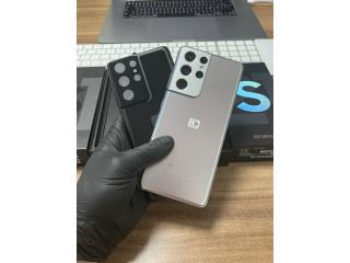 Samsung Galaxy S21 ultra 5G / Black sau Silver / 128 Gb / Nou |