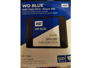 Vand SSD WD Blue 500 GB, SATA 3, Sandisk Ultra 500 GB, nou, SIGILAT