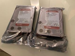 Hard Disk intern HDD NAS WD RED 6TB 5400rpm | Nou . Sigilat !