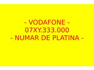 Numere VIP Platina Gold Aur Silver