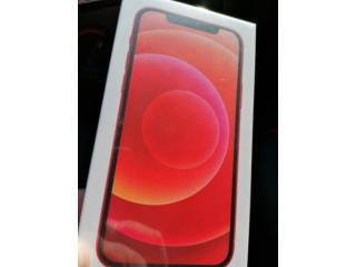 IPhone 12 nou, cu garanție 24 luni, sigilat, de culoare roșie.