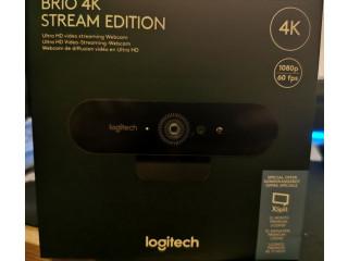 Vand webcam Logitech Brio 4K Stream Edition, NOUA, SIGILATA