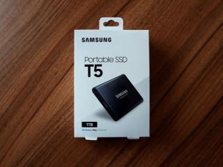 SSD extern Samsung T5 1TB. Nou, sigilat
