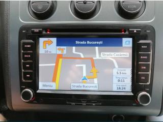 Navigație GPS RNS 510 dedicata vw, golf, passat, touran, polo, tiguan, skoda octavia2, seat leon,etc