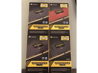 Kit Memorii Corsair Vengeance LPX 16GB DDR4 2666 3000mhz sigilate