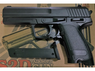 Pistol airsoft metalic calibru 6mm,replica SIG SAUER.500bile bonus.