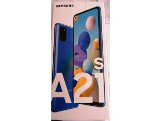 Samsung a21s cutie sigilata garantie 24 luni
