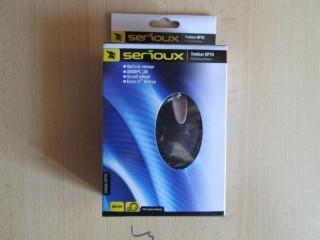 Vand pachet mouse SERIOUX si mousepad SERIOUX sigilate