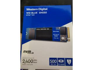 Vand SSD WD Blue SN550, 500 GB, m.2 NVME Pci Express, SIGILAT