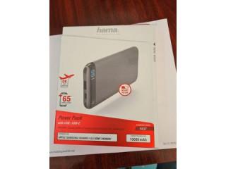 Acumulator extern/Baterie Externa Hama LED10S 10000 mAh, grey sigilata