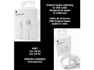 Cablu de incarcare USB iPhone 1m/2m Apple Sigilat in cutie