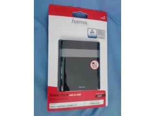 Baterie externa HAMA Power Pack Soft Touch 10400mAh, noua, sigilata