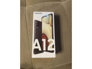 Samsung A12 Black Sigilat