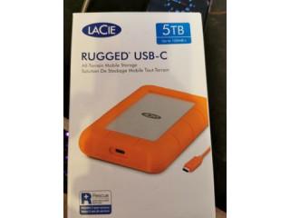 Vand hard disk extern Lacie Rugged USB-C, Thunderbolt, 5 TB, SIGILAT