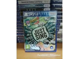 Vindem jocuri PS4 Just Sing, sigilat + alte jocuri Playstation 4