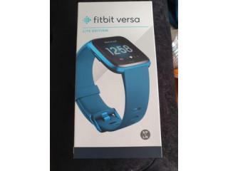 Smartwatch ceas fitness Fitbit Versa Lite Edition Blue Nou. SIGILAT