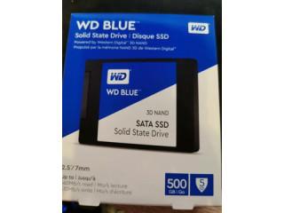 Vand SSD WD Blue 500 GB, SATA 3, nou, SIGILAT