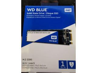 Vand SSD WD Blue 1 TB, m.2 SATA 3, NOU, SIGILAT