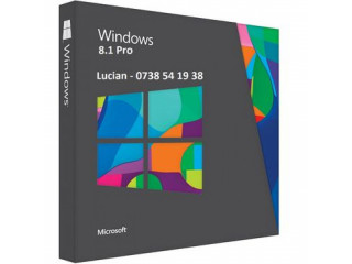 Windows 8.1 Pro, stick sau DVD sigilat, licenta originala OEM