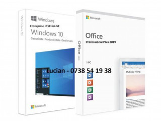 Windows 10 + Office 2019 Stick / DVD sigilat, licenta originala Retail