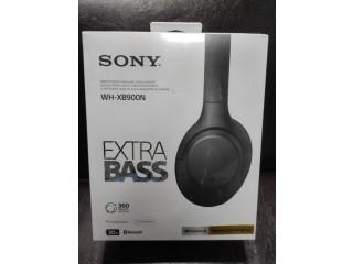 Casti SONY WH-XB900N - NFC Microfon , Noise Cancelling - Noi Sigilate