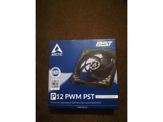 Ventilator Pc Arctic P12 PWM Black - Transparent,sigilat