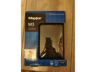 Vand Hard disk extern Maxtor M3, 1 TB, SIGILAT