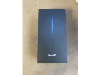 Samsung Note 10 Black Sigilat