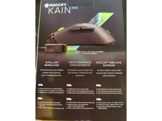 Vand mouse GAMING wireless Roccat Kain 200, SIGILAT