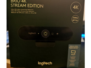 Webcam Logitech Brio 4K Stream Edition, Logitech Streamcam, SIGILATA