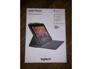 Husa cu tastatura bluetooth LOGITECH Slim Folio iPad Gen 5 6 Sigilata!