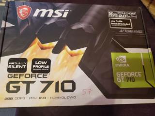 Placa video msi GT710 GeForce 2GB . Produs nou sigilat