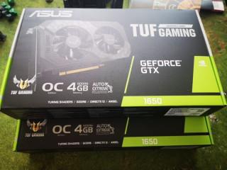 Placa video TUF-GTX1650-O4G Gaming GTX 1650 OC Edition 4GB, Sigilat!