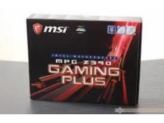 MSI MPG Z390 Gaming Plus, sigilata