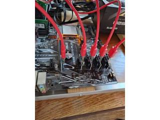Rig Mining Minat cu placi video RX 470 8 GB
